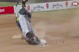 Toyota 86 racer walks away from wild Bathurst rollover
