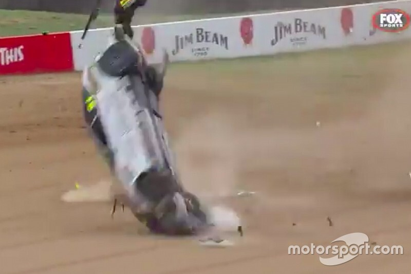 Toyota 86 racer walks away from wild Bathurst rollover