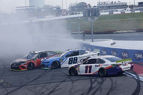What time and channel is the NASCAR Cup race at Charlotte today?