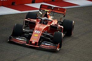 Singapore GP: Leclerc outpaces Hamilton in FP3