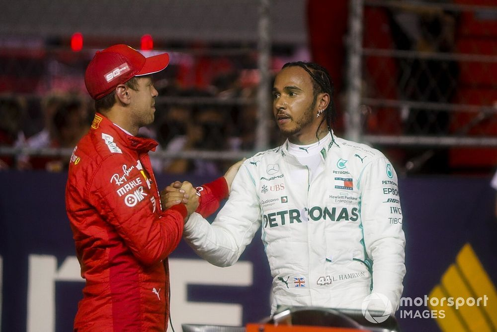 """Vettel y Hamilton: Una """"mierda"""" la idea de la parrilla invertida"""