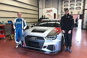 TCR DSG: Piero ed Edoardo Necchi al debutto sull'Audi al Mugello
