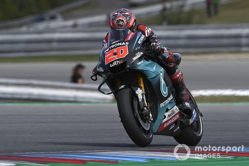 Test MotoGP Brno: tripletta Yamaha, che porta anche tante novità