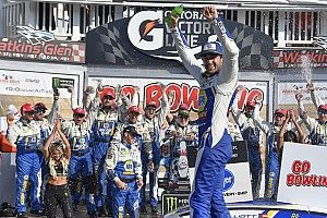 Chase Elliott tops Truex at Watkins Glen for second straight year