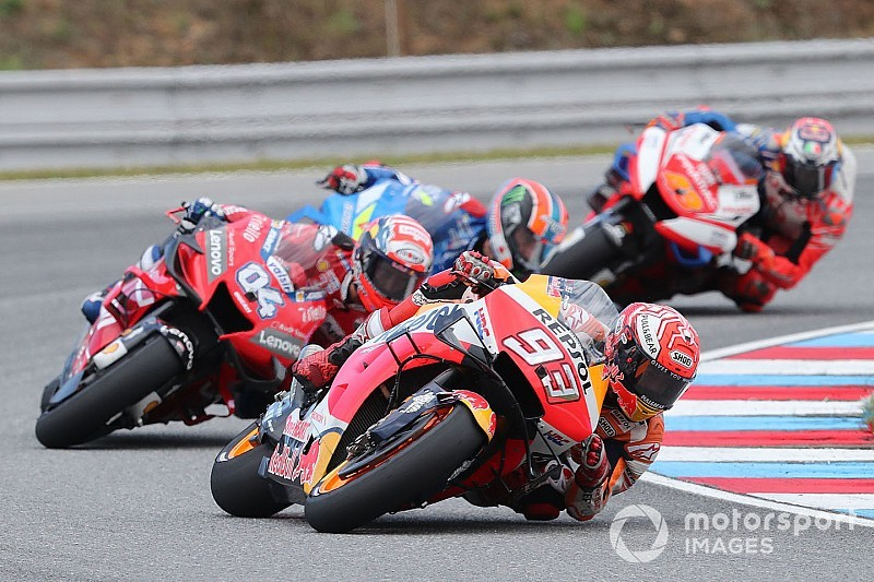 "Dovizioso: Marquez form has left MotoGP rivals ""in crisis"""