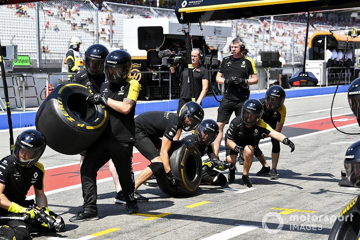 Elzárhatják egymástól az F1-es csapatokat a zárt kapus versenyeken