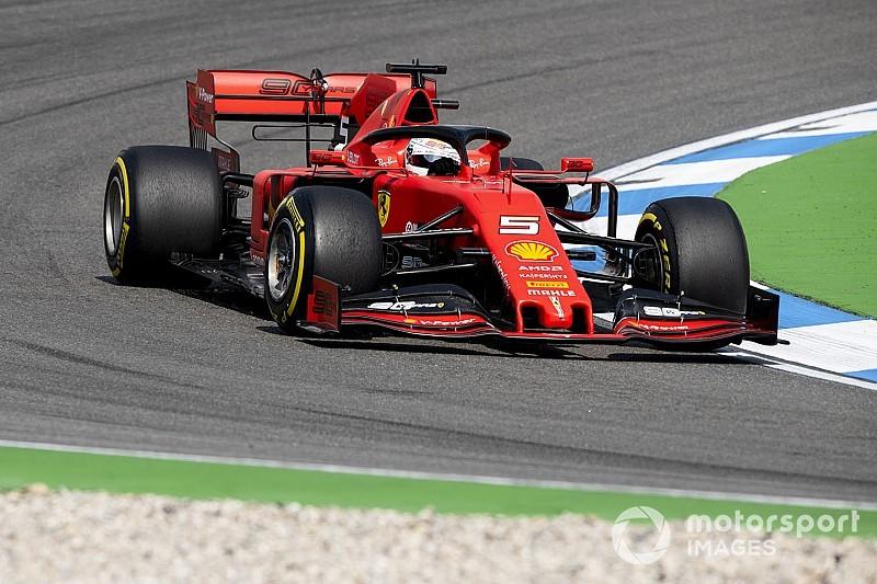 Turbo sorunu yaşayan Vettel: Acı verici