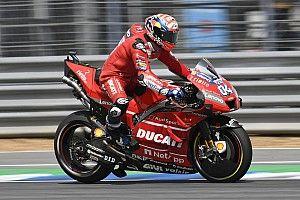 Ducati aura une toute nouvelle moto aux tests de Valence