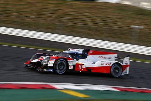 Nakajima y Hartley, pole en Fuji con el Toyota