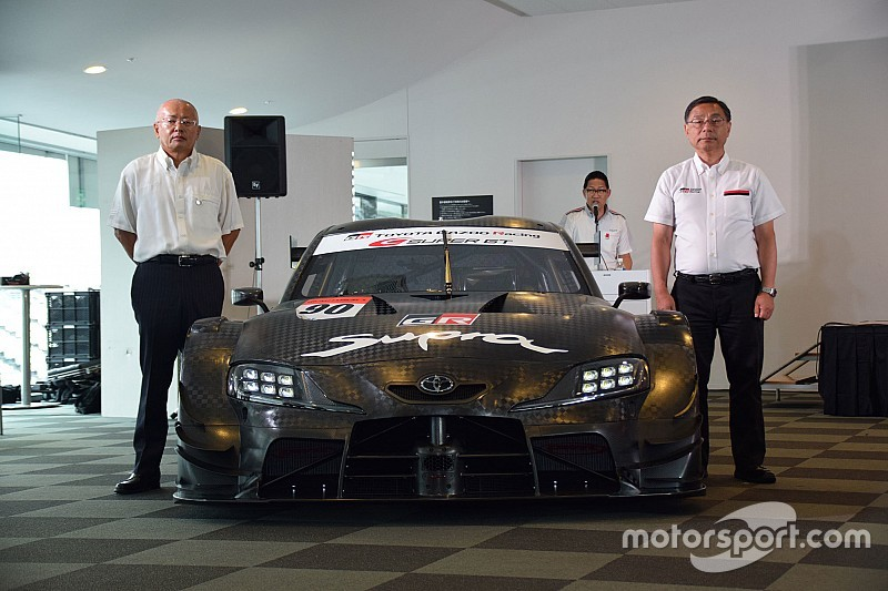 Toyota takes covers off Super GT-spec Supra