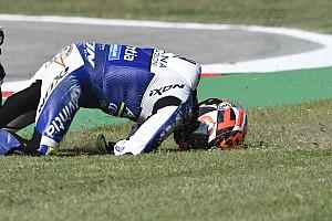 GALERIA: Piloto da MotoGP sofre forte queda e derruba Lorenzo no TL1 em Misano