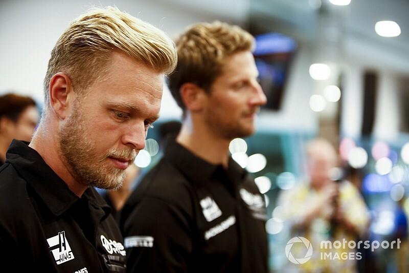 Magnussen szerint a Haas nagyon jól döntött Grosjeannal