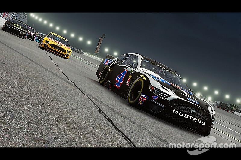 Виртуальную гонку NASCAR покажут на обычном телеканале