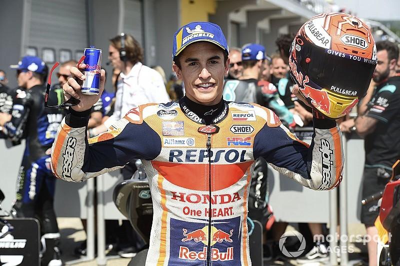Tiende pole voor Marquez op de Sachsenring, Dovizioso P13
