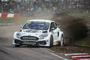 Sweden World RX: Wildcard Eriksson holds off Hansen to win