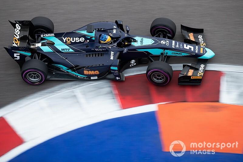 Sette Camara topt laatste F2-kwalificatie, De Vries op derde rij