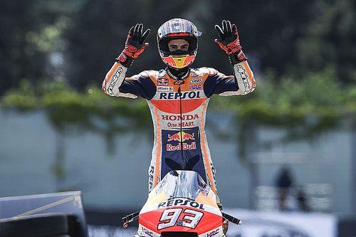 Saat unggul jauh di Sachsenring, Marquez pikirkan Austin