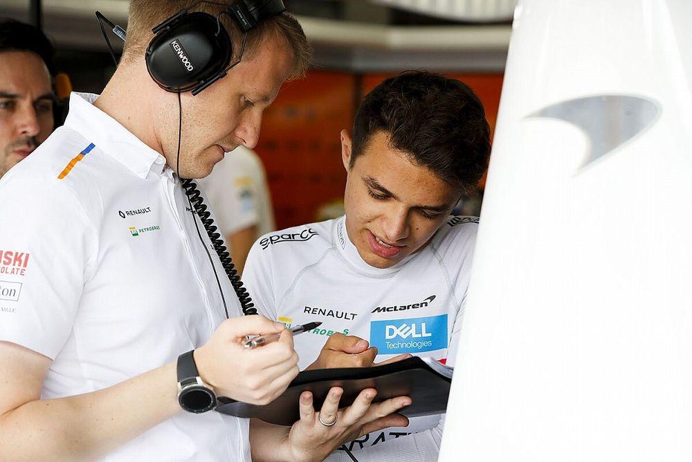 """Norris: """"Mercedes motoruna geçiş, McLaren için yeterli olmayacak"""""""