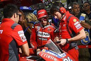 Dovizioso: Márquez podría escaparse en el arranque