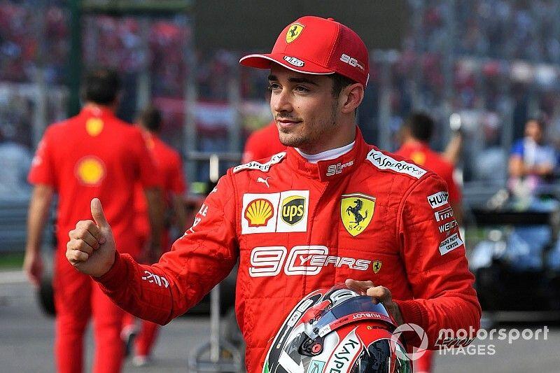 Болельщики признали Леклера гонщиком дня в Италии