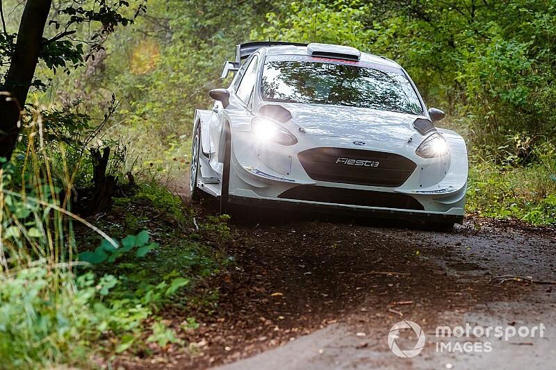 Photos - Bottas au volant d'une Ford Fiesta WRC en Allemagne