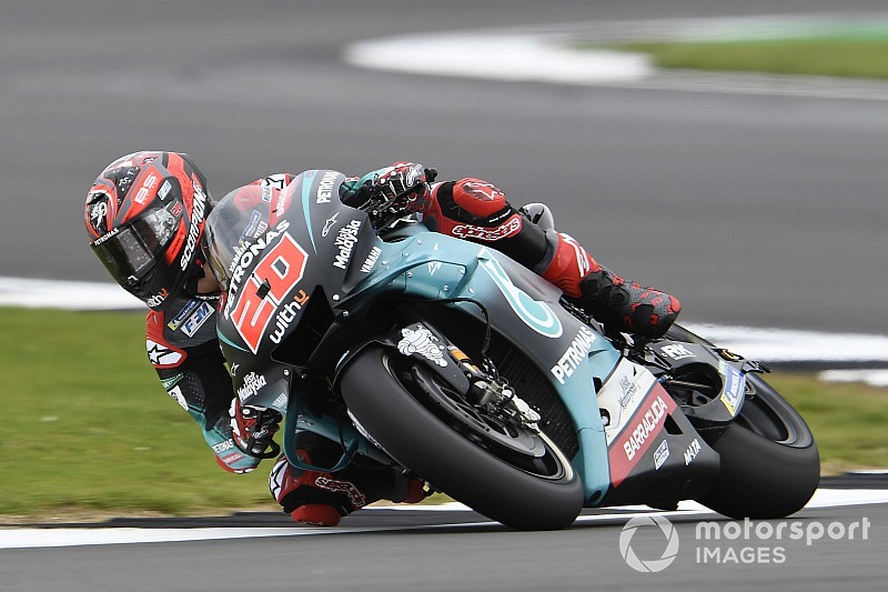 Quartararo topt tweede training op Silverstone in nieuw ronderecord