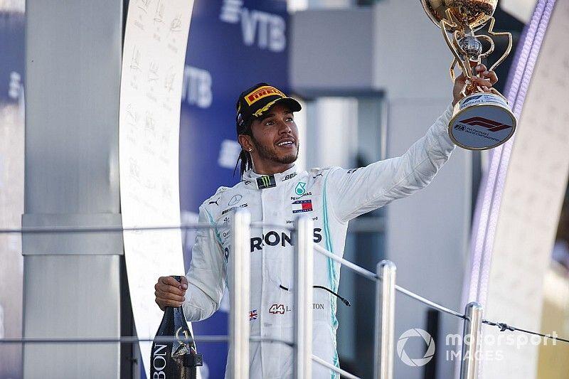 ترتيب بطولة العالم للفورمولا واحد بعد سباق روسيا