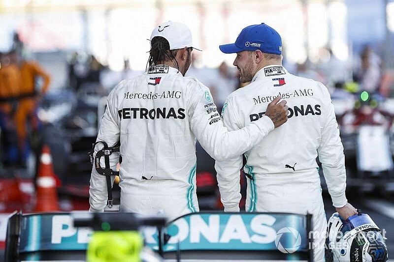 """Bottas: """"Hamilton çalıştığım en iyi takım arkadaşım"""""""