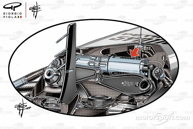 Formel-1-Technik: Die neue Mercedes-Vorderradaufhängung