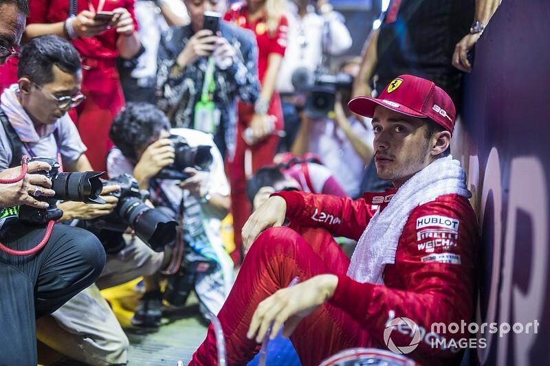 Leclerc frustrado, Hamilton decepcionado e palavrões: os melhores rádios do GP de Singapura