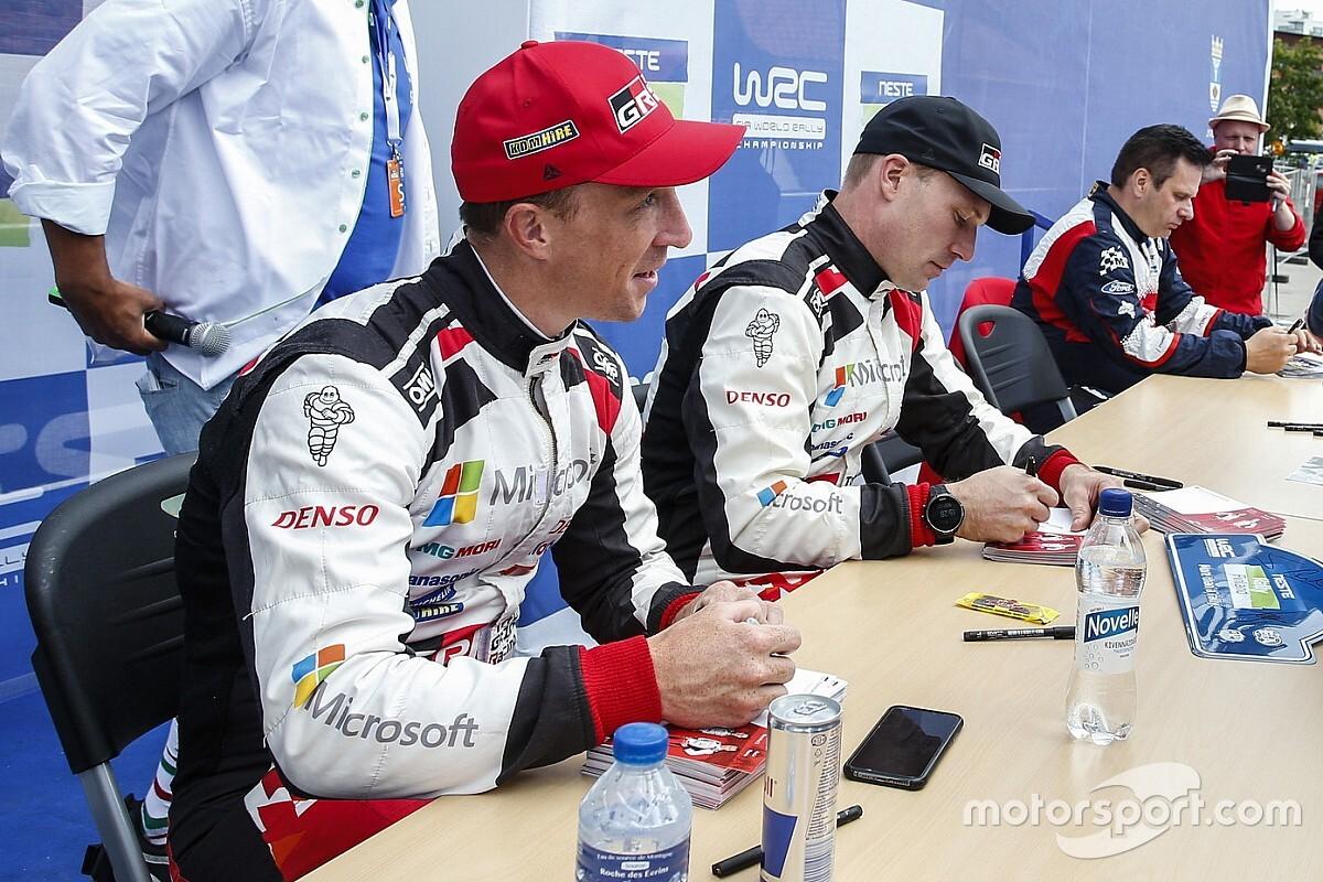 """WRC: Toyota, non è tutto OK. Meeke e Latvala """"Stupidi 2019"""""""