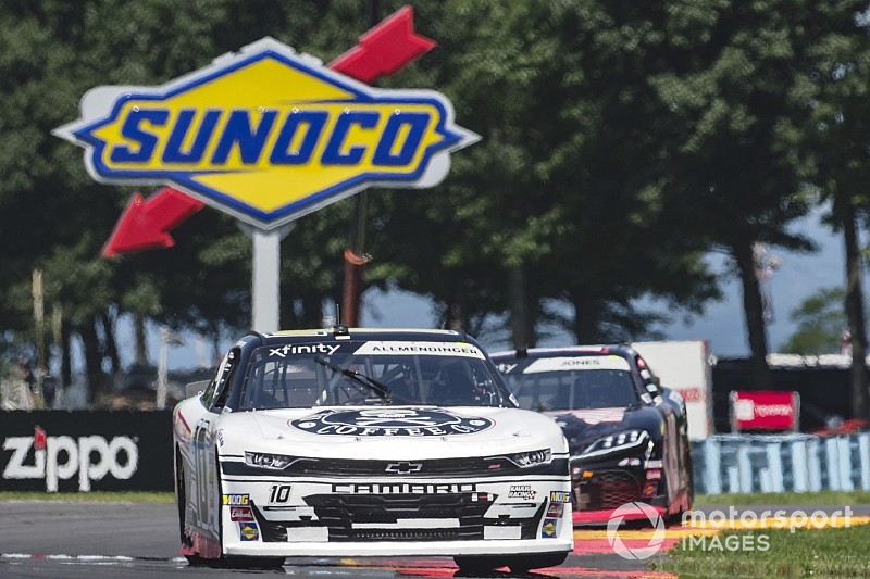 Allmendinger disqualified from Saturday's Xfinity race at WGI