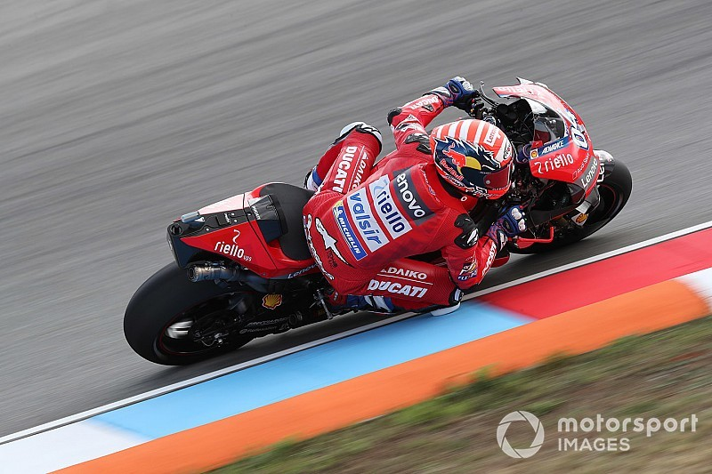 Brno MotoGP: Dovizioso tops FP1, Oliveira stars