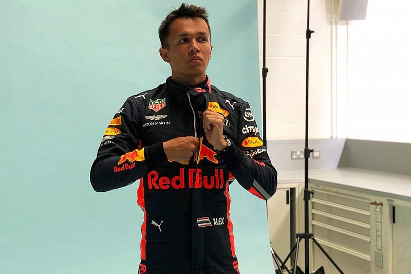 Albon aborde ses débuts chez Red Bull avec humilité
