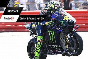 Motorsport Report MotoGP: Rossi illude, ma poi delude