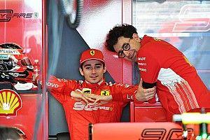 """Leclerc : Progresser pour """"aider Ferrari"""" à bien décider"""