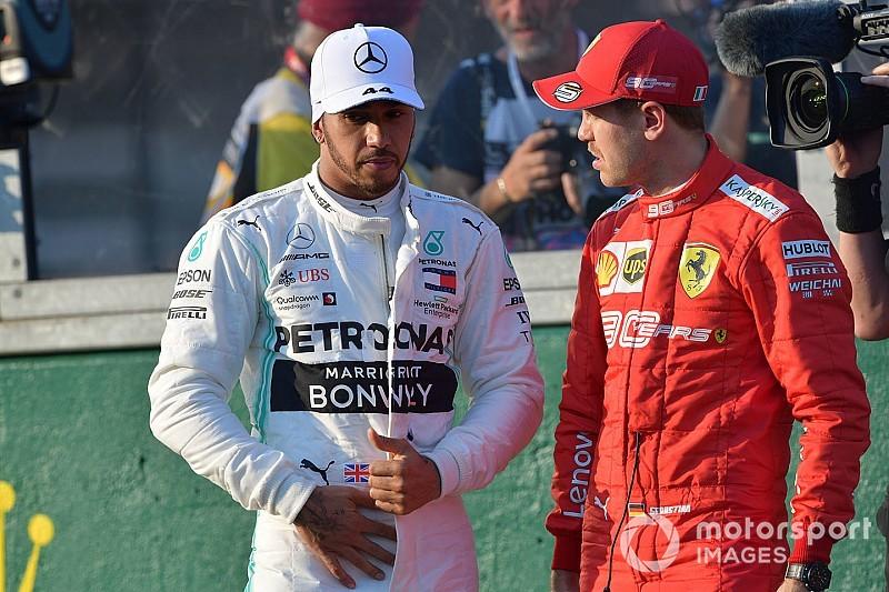 """Vettel défendu par Hamilton: """"Le seul qui n'a pas la mémoire courte"""""""