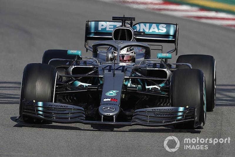 Bottas ve Hamilton, Mercedes'in gelişiminden memnun