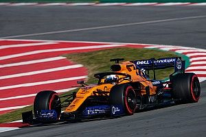 Sainz quickest as crash curtails Ferrari's day