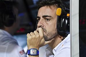 Alonso écarte l'envie de revenir en F1 l'an prochain