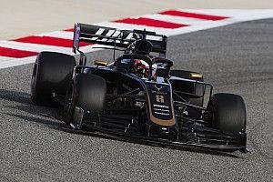 Fotogallery: lo svizzero Romain Grosjean nel Gran Premio del Bahrein