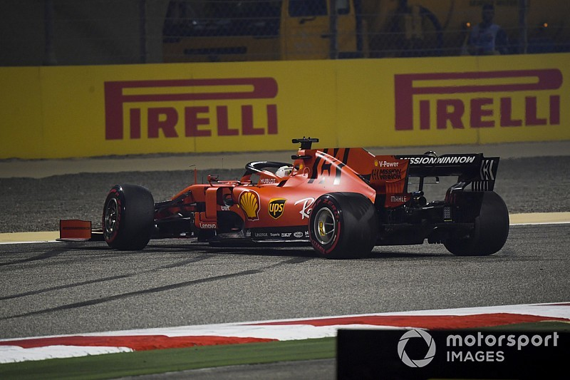 "Vettel dice que su Ferrari fue ""extremadamente difícil"" de conducir en Bahréin"