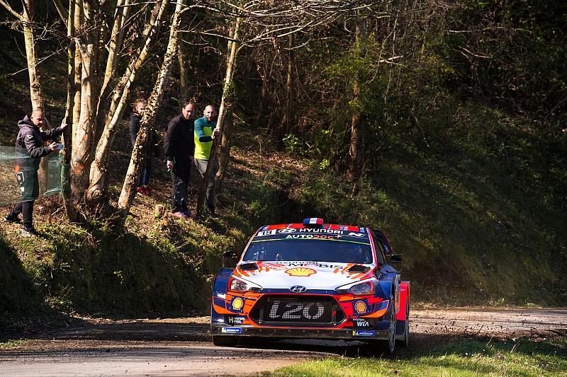 Loeb sur le Rallye des Vosges avec une WRC