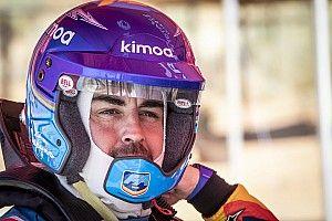 """Alonso tras probar el Toyota del Dakar: """"El cocheacepta una cantidad de maltrato importante"""""""