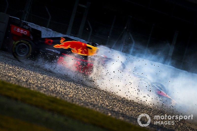 Гасли во второй раз разбил машину на тестах в Барселоне
