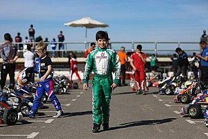 بعُمر 9 سنوات يخوض حمزة الفايز أوّل سباق أوروبي للكارتينغ في إسبانيا