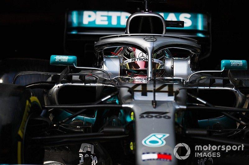 """Hamilton, """"en apuros"""" con su Mercedes en China"""