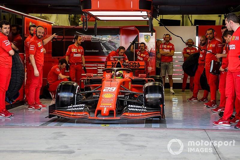 Мік Шумахер за кермом Ferrari: перші фото