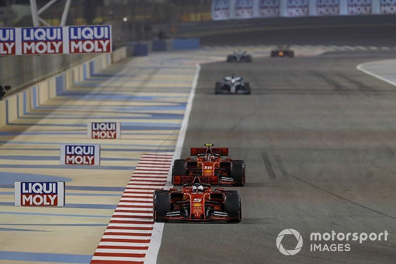 Leclerc ignorou ordem da Ferrari para ficar atrás de Vettel no Bahrein
