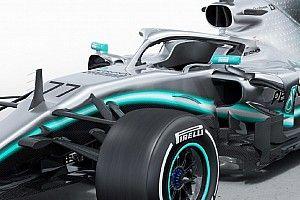 Alaposan felvértezte technikai fogásokkal a Mercedes a W10-et